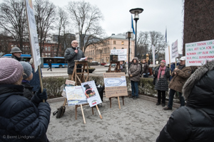 Demostration mot Katarinaterminalen 170320